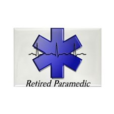 EMT/PARAMEDICS Rectangle Magnet (100 pack)
