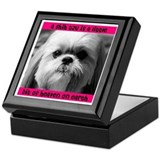 Shih Tzu Heaven Keepsake Box