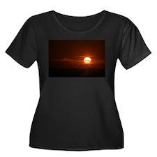 Burning Sun Sunrise Beach T