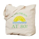 Fun 80th Tote Bag