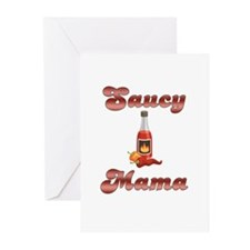 Saucy Mama Greeting Cards (Pk of 10)