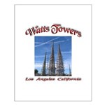Watts Towers Small Poster