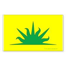 West Kingdom Populace Sticker (Rectangle 50 pk)