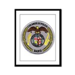 LAPD Band Framed Panel Print
