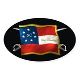 South Carolina Deo Vindice Decal