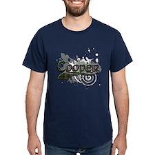 Cooper Tartan Grunge T-Shirt