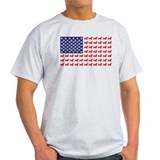 Dachshund Patriotic Flag T-Shirt