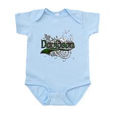 Davidson Tartan Grunge Infant Bodysuit