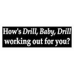 BP and Drill, Baby, Drill Bumper Sticker