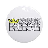 Solfege King Ornament (Round)