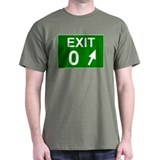 Exit 0 Black T-Shirt