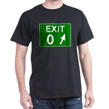 Exit 0 Black T-Shirt