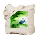 """Blue Bird III"" Tote Bag"