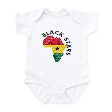 Blackstars of Ghana Infant Bodysuit