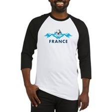 Tribal France Baseball Jersey