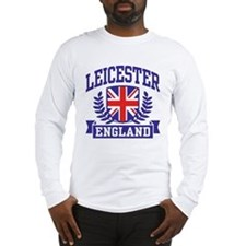 Leicester England Long Sleeve T-Shirt