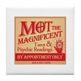Mot the Magnificent Tile Coaster
