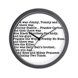 Goodfellas Quote Wall Clock