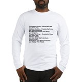 Goodfellas Quote Long Sleeve T-Shirt
