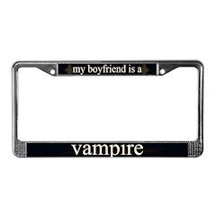 Boyfriend Vampire Eclipse License Plate Frame