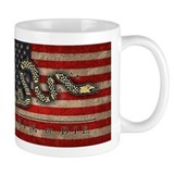 Join, Or Die -Flag Small Mugs