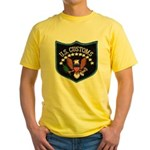 U S Customs Yellow T-Shirt