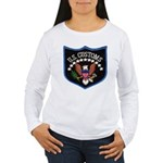 U S Customs Women's Long Sleeve T-Shirt