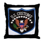 U S Customs Throw Pillow