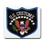 U S Customs Mousepad