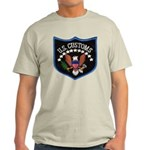 U S Customs Light T-Shirt