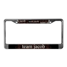 Team Jacob Shapeshifter License Plate Frame