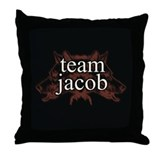 Team Jacob Shapeshifter Throw Pillow