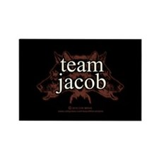Team Jacob Shapeshifter Rectangle Magnet (100 pack