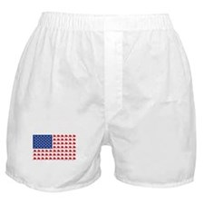 Patriotc Wall Street Flag Boxer Shorts