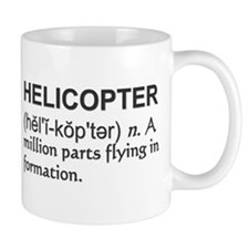 Helicopter Definition Coffee Mug