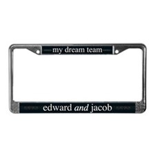 Edward Jacob Dream Team License Plate Frame