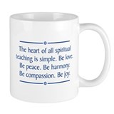 Spiritual Teaching  Tasse