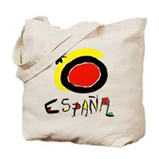 Spainish Soccer Tote Bag