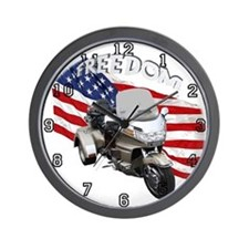 Unique Goldwing trikes Wall Clock