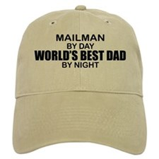 World's Best Dad - Mailman Baseball Cap