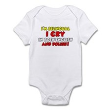 Bilingual Polish Baby Infant Bodysuit