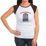 Humboldt County Coroner Women's Cap Sleeve T-Shirt