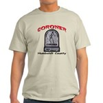 Humboldt County Coroner Light T-Shirt