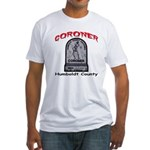 Humboldt County Coroner Fitted T-Shirt