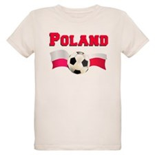 Little Polish Football Fan T-Shirt