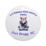 2nd Bn 505th ABN Ornament (Round)