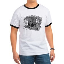 Liberty Eagle in black and wh T