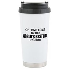 World's Best Dad - Optometrist Ceramic Travel Mug