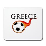 Greece Soccer Mousepad
