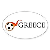 Greece Soccer Decal